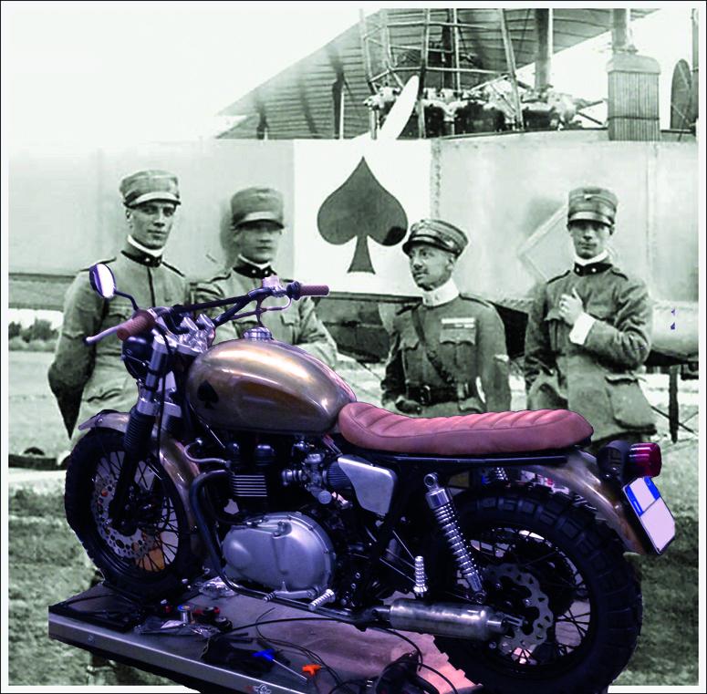 Triumph e Asso Caproni